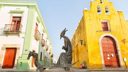 Art aficionados will love the statues by Leonora Carrington in Campeche, Mexico