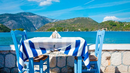 Let the stunning Itacha landscape be the backdrop as you enjoy some traditional Greek food