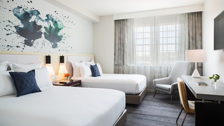Get properly pampered at the Kimpton Lorien Hotel and Spa in Alexandria, Virginia