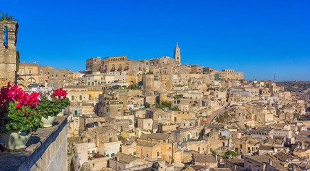 Matera's cave dwellings have been inhabited for millennia