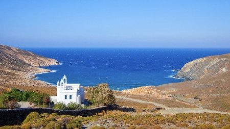 Visit Tinos to discover some of the best unspoiled beaches that the whole of the Greek islands has to offer