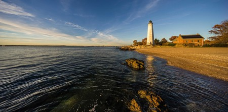 Stay in a lighthouse suite on your next visit to the charming state of Connecticut