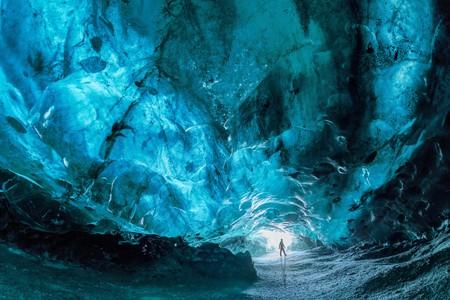 Explore ice caves at Vatnajokull Glacier as you road-trip Iceland's Ring Road