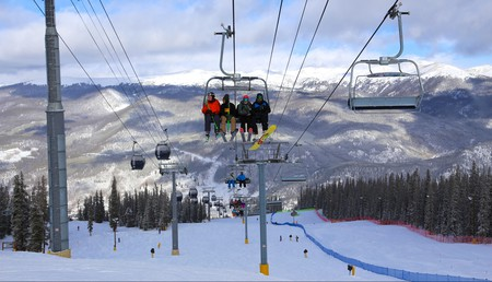 Rocky Mountains views abound in Keystone, from the slopes to the skies