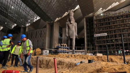The much-delayed Grand Egyptian Museum is now due to open in summer 2022