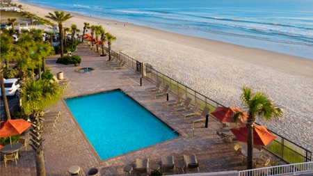You'll have easy access to Daytona International Speedway – and the beach – with a stay at these hotels
