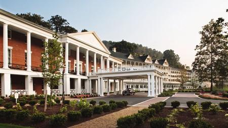 The Omni Bedford Springs Resort is a National Historic Landmark