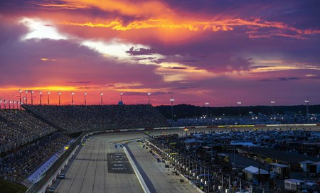 Not only the races at Darlington Raceway are spectacular but also the sunsets