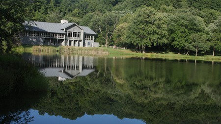 Peaks of Otter Lodge's lake views offer quiet reflection