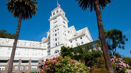 Check into the classy Claremont Club and Spa for a high-end stay in Berkeley
