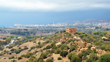 The archaeological wonder of the Valley of the Temples is reason enough to make the trip to Agrigento