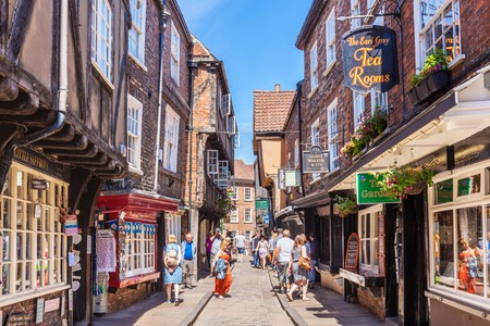 Visit the Shambles to experience Harry Potter's Diagon Alley along with some impressive medieval architecture