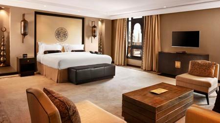 Elegant, spacious rooms await at the Shaza Madinah Hotel in Medina