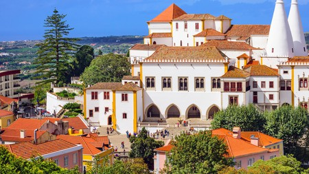 The National Palace is a must-visit when you're in Sintra