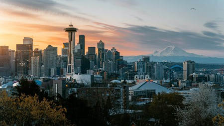 From Kerry Park in Seattle, you have a great view of the Space Needle