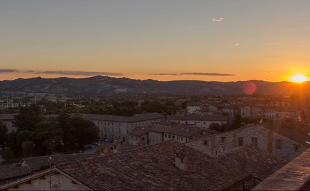 Gubbio's long and fascinating history is reflected in its impressive architecture
