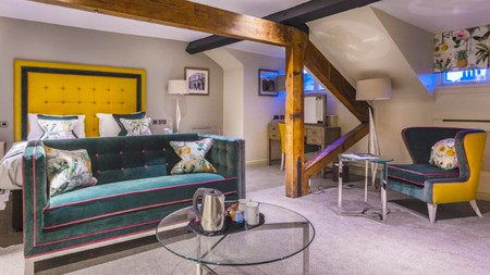 Book into a nearby hotel to make the most of your visit to Conwy Castle