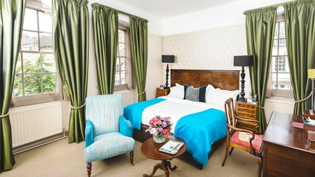 The Feathers was built in the 17th century, making it older than Blenheim Palace itself
