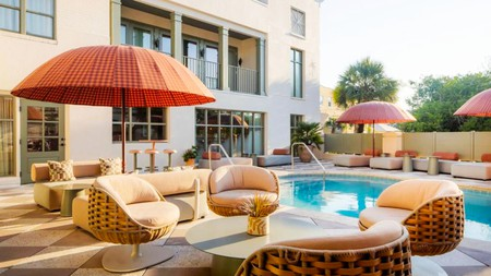 You'll have easy access to Charleston City Market –and plenty of pool time – at the Ryder Hotel