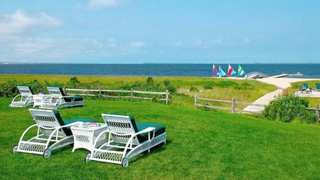 The Wauwinet celebrates all things local, with Nantucket wildflowers in the rooms and local produce in the restaurant
