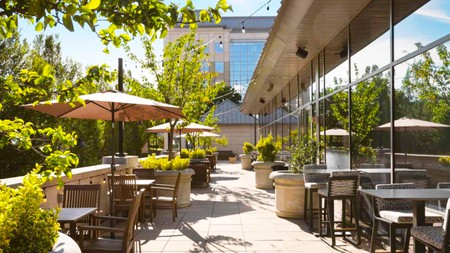 The Westin Reston Heights is a relaxing pick close to all the shops, restaurants and bars of Reston