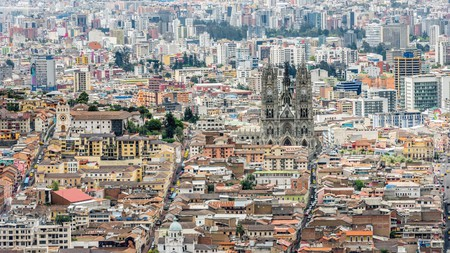 Historic Quito is a Unesco World Heritage site