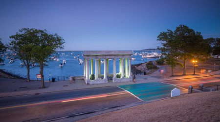 Plymouth Rock is said to be where it all started for America