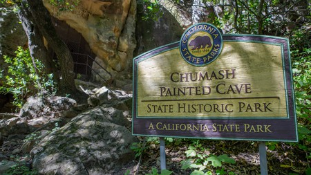 Visit the centuries-old cave paintings of the Chumash people on your next trip to Santa Barbara