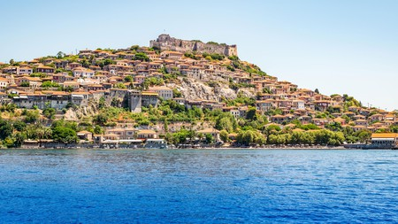 Get a flavour of Lesbos with a visit to Molyvos or Mithymna