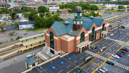 Albany-Rensselaer Station is a must-visit (especially if you're catching a train)
