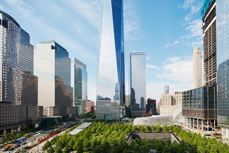 Stay at the World Center Hotel for views of One World Trade Center