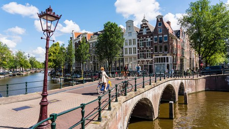 Experience the city like a local and cycle along Amsterdam's many canals