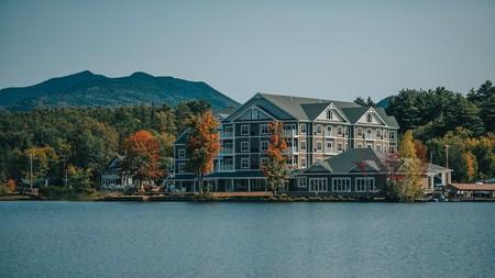 Lakeside living awaits you at the Saranac Waterfront Lodge
