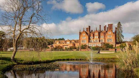 Relax at the luxurious Dunston Hall hotel after a full-on day at BeWILDerwood