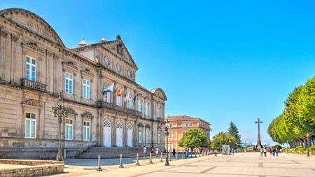 Pontevedra is a Galician delight with not a car in sight