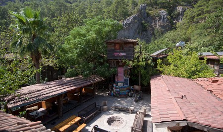 Get back to nature in a bona fide treehouse at Kadir's