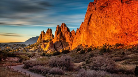 Garden of the Gods is home to some of Colorado's most dramatic scenery