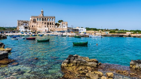 San Vito Abbey is part of the historical fabric of Polignano a Mare, one of the most beautiful towns in Italy