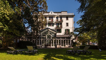 Hotel Interlaken dates back to the 14th century