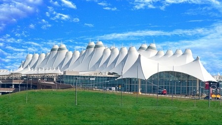 Denver International Airport is one of the busiest airports in the US