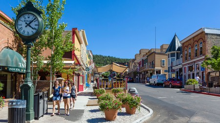 Historic Main Street in Park City is home to galleries, boutiques, restaurants and more
