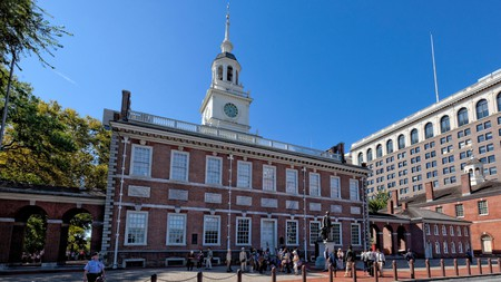 Philadelphia's Independence Hall is the site where the Declaration of Independence was signed in 1776