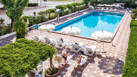 Grand Hotel Rimini was a favourite of Federico Fellini