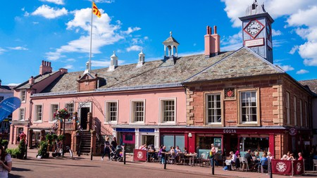 Carlisle's Old Town Hall is only one part of the city's living history