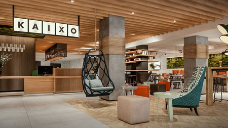 Hotel Bed4U Bilbao blends affordability with chic modern design