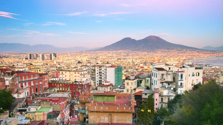 A world of street food can be found across Naples