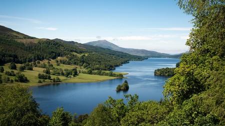 Queen's View is a superb vantage point that captures Loch Tummel, Schiehallion and the mountains surrounding Glencoe