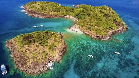 Réserve Cousteau in Guadeloupe is a paradise for diving and kayaking