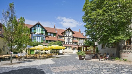 Find some serenity at Resort Schloss Auerstedt, set in a quiet patch of Germany with rolling hills and vineyards