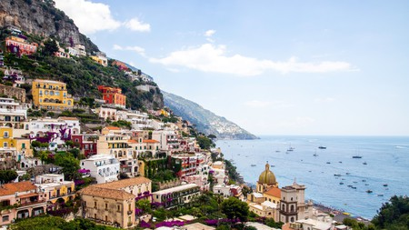 Positano offers no-end of dramatic views for the visitor